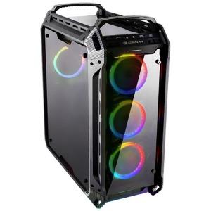 コンピューケース ゲーミングPCケースCOUGAR PANZER EVO RGB ブラック