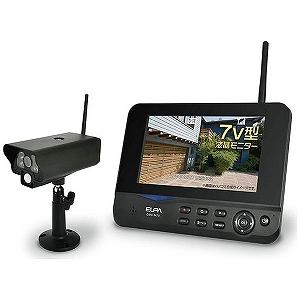 エルパ ワイヤレスカメラ&モニターセット CMS-7001