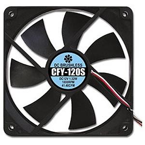 再入荷/予約販売! 合計3 980円以上で送料無料 更に代引き手数料も無料 AINEX 静音タイプ CFY-120S メーカー公式ショップ ケース用ファン120mm