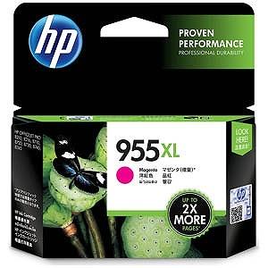 HP 純正インクカートリッジ HP 955XL(マゼンタ/増量) L0S66AA