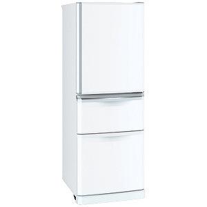 三菱 3ドア冷蔵庫(335L・右開き) Cシリーズ MR-C34D-W パールホワイト(標準設置無料)