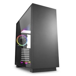 PCケース PURE STEEL RGB ブラック PURESTEELRGB