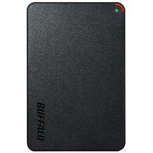 バッファロー 外付けHDD ブラック [ポータブル型 /4TB] HD-PCFS4.0U3-GBA