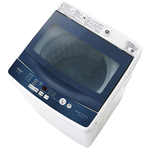 AQUA 全自動洗濯機(洗濯5kg) AQW-BK50G(FB) フロストブルー(標準設置無料)