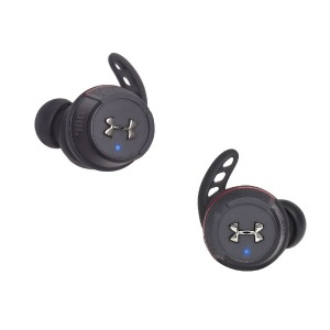 JBL フルワイヤレスイヤホン UAJBLFLASHBLK ブラック [リモコン・マイク対応 /防水&左右分離タイプ /Bluetooth]