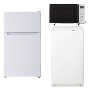 TAGlabel by amadana 冷蔵庫・全自洗濯機・電子レンジ の新生活応援3点セット(標準設置無料)