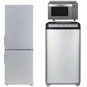 URBAN CAFE SERIES 冷蔵庫・全自動洗濯機・電子レンジ の生活応援3点セット(2)(標準設置無料)