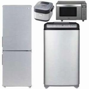 URBAN CAFE SERIES 冷蔵庫・全自動洗濯機・電子レンジ・炊飯器 の新生活応援4点セット(2)(標準設置無料)
