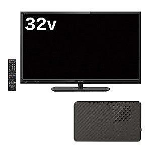2019年新生活応援 【録る+見る】テレビセット 2TC32AE1 + HDPV2.0U3BKS(標準設置無料)