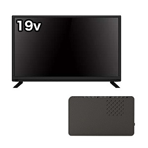 とりあえずセット(テレビ地上波のみ) 19V型液晶テレビ+外付けHDD BF19KIJP + HDPV2.0U3BKS(送料無料)