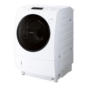 東芝 ◎ドラム式洗濯乾燥機 ( 洗濯9.0kg/左開き) TW-95G7L-W グランホワイト( 乾燥5.0kg /ヒーター乾燥(水冷・除湿タイプ) /左開き)(標準設置無料)
