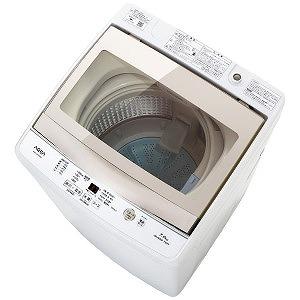 AQUA 全自動洗濯機 [洗濯7.0kg] AQW-GS70G-W ホワイト(標準設置無料)