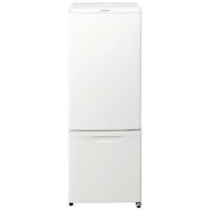 パナソニック 2ドア冷蔵庫 (168L・右開き) NR-B17BW-W マットバニラホワイト(標準設置無料)