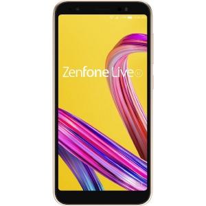ASUS エイスース SIMフリースマホ「Zenfone Live L1 Series」 [5.5型/メモリ2GB/ストレージ32GB] ZA550KL-GD32 シマーゴールド