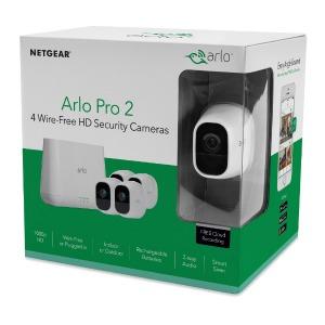 ネットギア Aro Pro2 VMS4430P-100JPS[ベースステーション+カメラ4台セット] VMS4430P100JPS