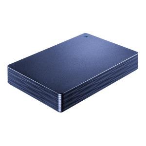 I・O・DATA 外付けHDD カクうす Lite ミレニアム群青 [ポータブル型 /2TB] HDPH-UT2DNVR