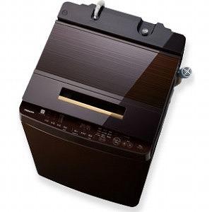 東芝 全自動洗濯機 (洗濯10.0kg) ZABOON AW-10SD7-T グレインブラウン(標準設置無料)