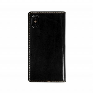 ROA iPhone XS Max 6.5インチ用 Tuscany Belly ブラック LB13523I65(ブラ
