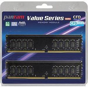 ウエスタンデジタル CFD Panram DDR4-2666 デスクトップ用メモリ 288pin W4U2666PS8GC19