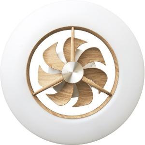 ドウシシャ リモコン付サーキュレーター搭載機能LEDシーリングライト (~12畳) DCC-12CMLW 調光・調色(昼光色~電球色) [12畳 /白色~電球色]
