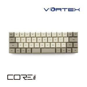 VORTEXGEAR 有線キーボード VortexGear VORTEX COREシリーズ 47キー VTG47SVRBEG 銀軸 [USB /コード]
