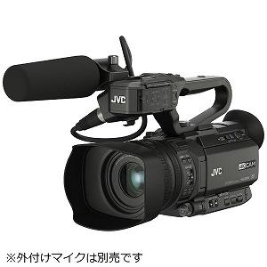 JVC・ビクター 4Kメモリーカードカメラレコーダー GY-HM175 GY-HM175 黒