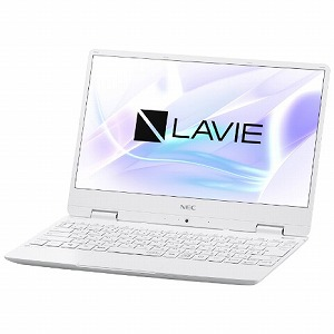 NEC 12.5型ノートパソコン LAVIE Note Mobile  [2019年春モデル] PC-NM550MAW パールホワイト