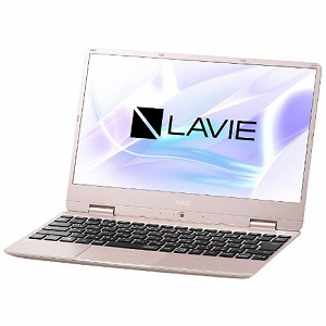 NEC 12.5型ノートパソコン LAVIE Note Mobile  [2019年春モデル] PC-NM550MAG メタリックピンク