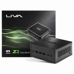 デスクトップパソコン LIVAZ2-4/120-W10(N4000) [モニター無し /SSD:120GB /eMMC:32GB /メモリ:4GB]