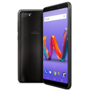 SIMフリースマホ Wiko Tommy3 Plus W-V600(ANTHRACITE MIRROR)