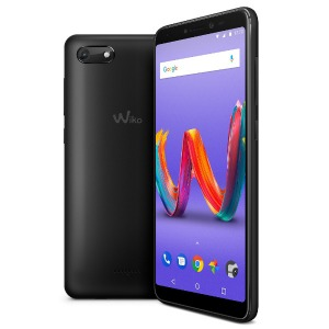 SIMフリースマホ Wiko Tommy3 Plus W-V600(ANTHRACITE MATTE)