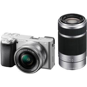 ソニー ミラーレス一眼カメラ 「α6400」 ダブルズームレンズキット ILCE-6400Y-S シルバー