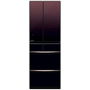 三菱 ◎6ドア冷蔵庫 冷蔵庫 置けるスマート大容量 MXシリーズ(503L・フレンチタイプ ) MR-MX50E-ZT グラデーションブラウン(標準設置無料)