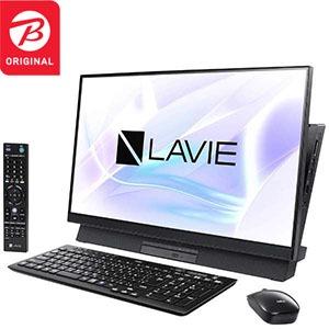 NEC デスクトップパソコン LAVIE Desk All-in-one PC-DA570MAB-2 ファインブラック 「ビックカメラグループオリジナル」