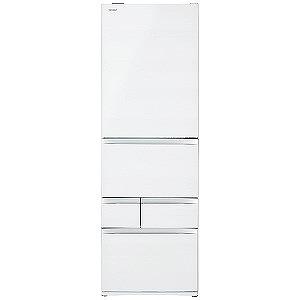 東芝 ◎5ドア冷蔵庫(465L・左開き) GR-R470GWL(UW) クリアグレンホワイト(標準設置無料)