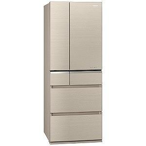 パナソニック 6ドア冷蔵庫(501L・フレンチタイプ ) NR-F505XPV-N マチュアゴールド(標準設置無料)