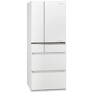 パナソニック 6ドア冷蔵庫(470L・フレンチタイプ ) NR-F475XPV-W マチュアホワイト (標準設置無料)