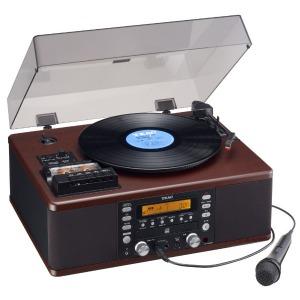 ティアック ターンテーブル/カセットプレーヤー付CDレコーダー(カラオケ機能付) LP-R560K ターンテーブルカセットプレーヤー付CDレコーダー