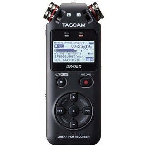 タスカム リニアPCMレコーダー DR-05X