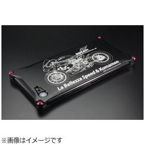 ギルドデザイン iPhone 7用 くまモン×ラ・ベレッツァ×GILDdesignコラボケース バイクモデル 42163 GKL-270BIK