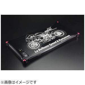 ギルドデザイン iPhone 7 Plus用 くまモン×ラ・ベレッツァ×GILDdesignコラボケース 42165GKL280BIK バイクモデル