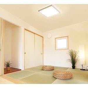 アイリスオーヤマ LEDシーリングライト 和風角形 12畳調色