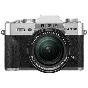 富士フイルム ミラーレス一眼カメラ X-T30【レンズキット(18-55)】 FX-T30LK-S シルバー