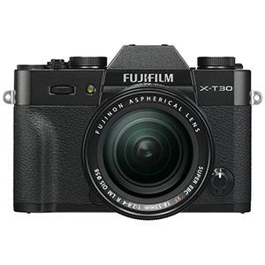 富士フイルム ミラーレス一眼カメラ X-T30【レンズキット(18-55)】 FX-T30LK-B ブラック