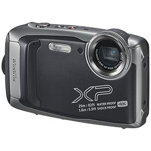 富士フイルム 防水コンパクトデジタルカメラ FinePix(ファインピックス) FFX-XP140-DS ダークシルバー