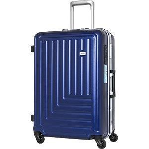 TRAVELEARTH スーツケース TE-0791-61NV ネイビー [65L]