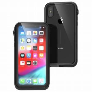 カタリスト iPhone XS 完全防水ケース CTWPIP18SBK(ブラ