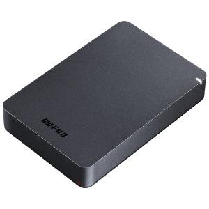 バッファロー 外付けHDD HD-PGF4.0U3-GBKA ブラック [ポータブル型]