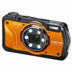 リコー コンパクトデジタルカメラ [防水+防塵+耐衝撃] WG-6 オレンジ