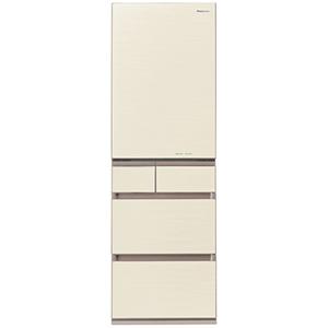 パナソニック 5ドア冷蔵庫(450L・右開き) NR-E454PX-N シャンパンゴールド パナソニック (標準設置無料), 川西町:67f10d66 --- officewill.xsrv.jp